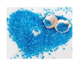 Aquarium Bodem Blauw Glas