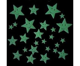 Lichtgevende Sterren Stickers 26 Stuks