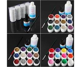 Gel Nagellak Set 12 Kleuren