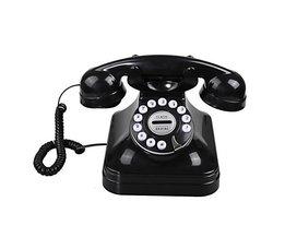 Retro Telefoon met Draaischijf