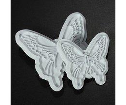 Vlinder Cupcakes Vormpjes 2Stuks