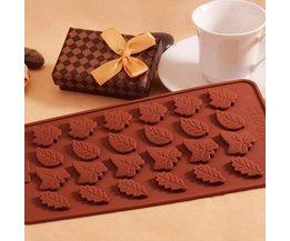Chocolade Mal Blaadjes
