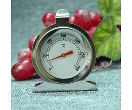 Oventhermometer van Roestvrij Staal