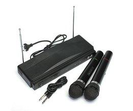 Draadloze Microfoons Met Ontvanger