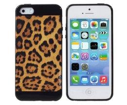 Hoesje met Luipaardprint voor iPhone 5 & 5S