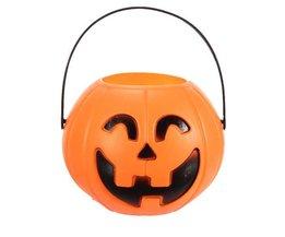 Plastic Jack-O-Lantern
