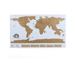 Decoratieve Wereld Kraskaart