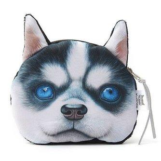 Munten Portemonnee met Honden of Kattengezichtje