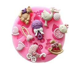 Bakvorm Babyspullen