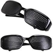 Rasterbril Zwart