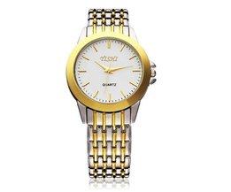 Horloge Goud En Zilver