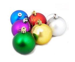 6 Kerstballen Kopen