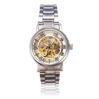 Zilver Roestvrij Staal Horloge