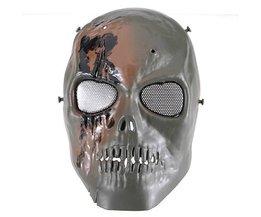 Skull Masker voor Paintbal, Airsoft of Militair Gebruik