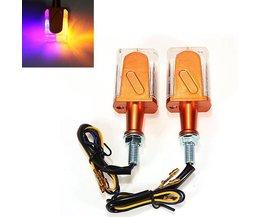 LED Knipperlichten Motor Tweekleurig