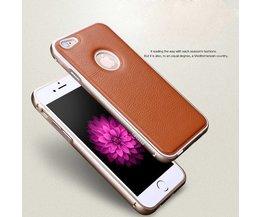 MOFI Leren Hoes Met Bumper Voor iPhone 6