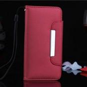 Leren Wallet Case Voor iPhone 6 Plus