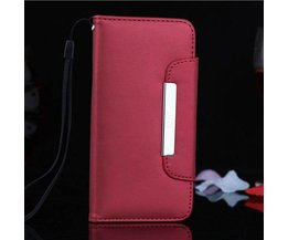 Leren Wallet Case Voor iPhone 6 Plus
