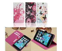 Kleurrijke Portemonnee Hoes Voor iPhone 6 Plus