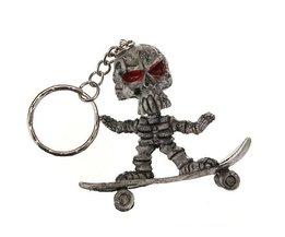 Sleutelhangers met Skateboard Skelet