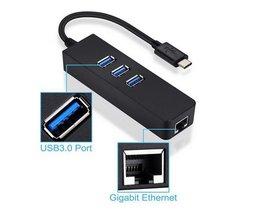3 Poorten USB Hub