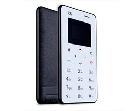 AIEK X6 Mobiele Telefoon Ultra Dun