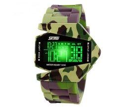 LED Camouflage Horloge