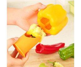 Handige Paprika Ontpitter Set