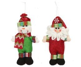 Kerstman of Sneeuwpop Decoratie