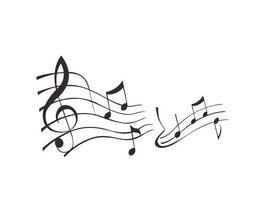 Muursticker Muziek