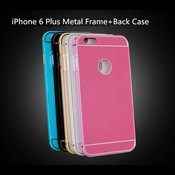IPhone 6 Plus Bumper Met Backcover