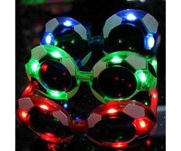 WK Voetbal Zonnebril met LED Licht