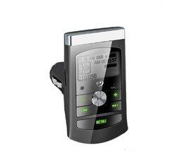 FM Transmitter Met LCD Scherm