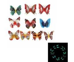 10 Vlinders Decoratie