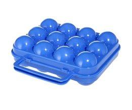 Plastic Eierdoos Voor 6 Of 12 Eieren