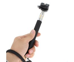 Uitschuifbare Selfiestick 110cm voor Camera