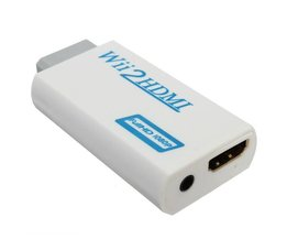 Wii HDMI Adaptor + 3,5mm Poort