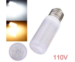 E27 LED Lamp Corn met Matglas
