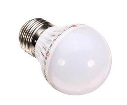 E27 1W LED Lamp met Wit Licht & Etc