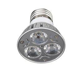 E27 3W LED Lamp in het Rood & Etc