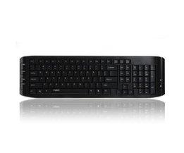 Rapoo Wireless Keyboard + Muis 8130+