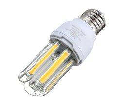 E27 COB Lamp met Warm Wit of Wit Licht