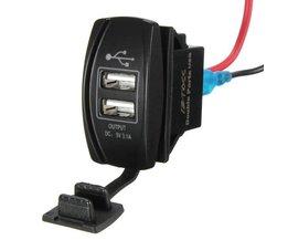 Auto USB Adapter Oplader