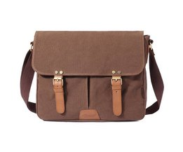 Canvas Messenger Sacs