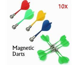 Fléchettes Magnétiques Pour 10 Magnétiques Double Face Pièces Dartboard