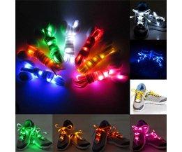 Lacets LED Flash Light