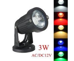 LED D'Éclairage Extérieur Avec Des Couleurs Différentes De Lumière
