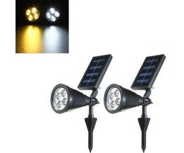 LED Chaîne De Lumières Solaires