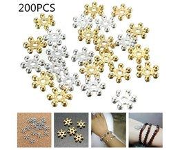Perles De Noël Et D'Hiver (200 Pièces)