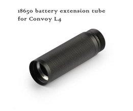 Support De Batterie Supplémentaire Pour Convoy Lampe De Poche LED
